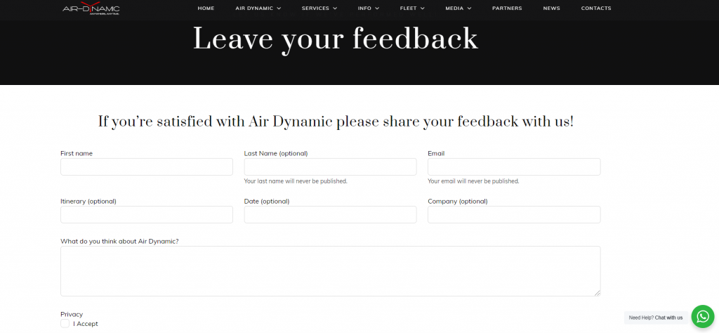 AirDynamic Helitaxi Luxury Aviation