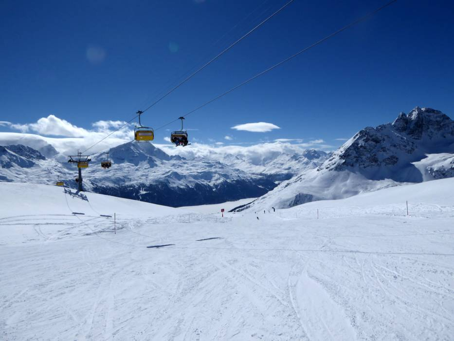 Saint Moritz Slopes Air Dynamic
