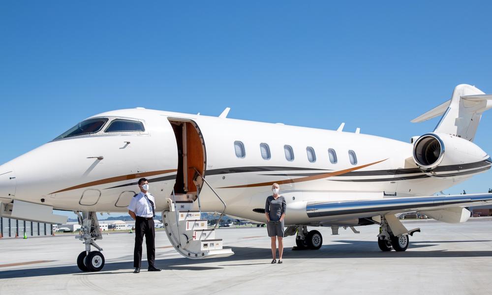 Private Jet Covid 19 Free