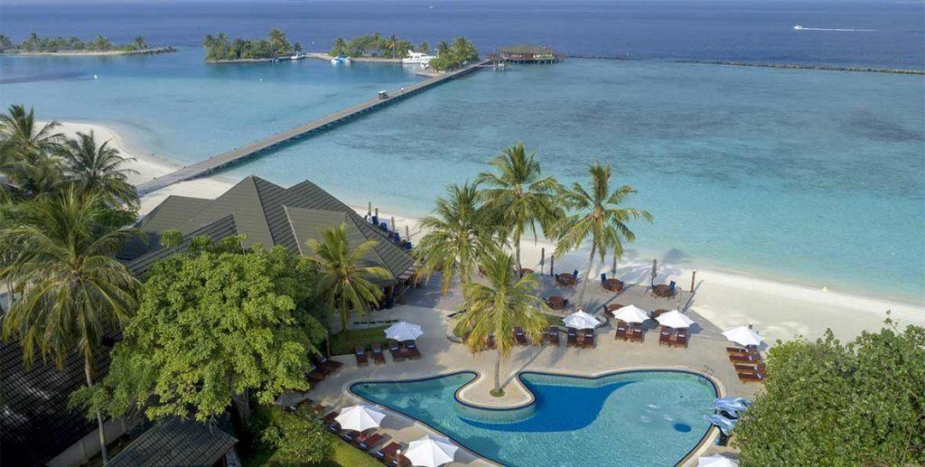 Private Jet Luxury Resort