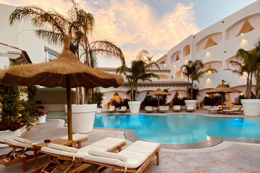 Hotel Cannigione Private Jet Costa Smeralda