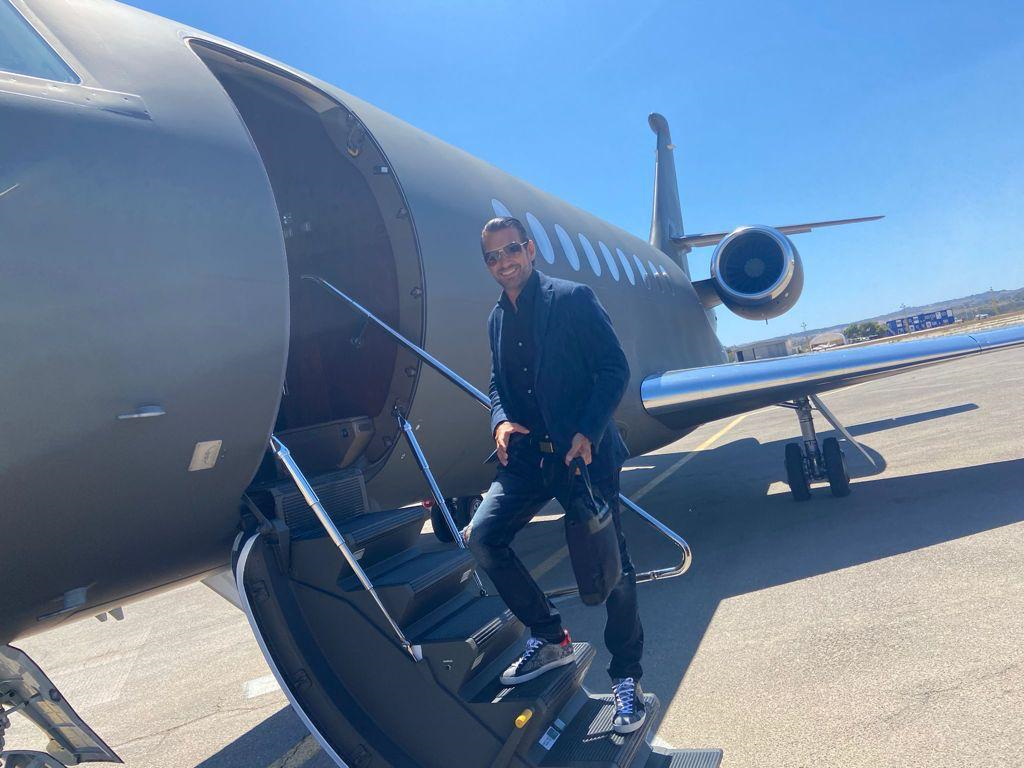 private jet look 3