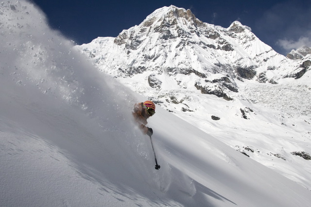 rouby first des annapurna south
